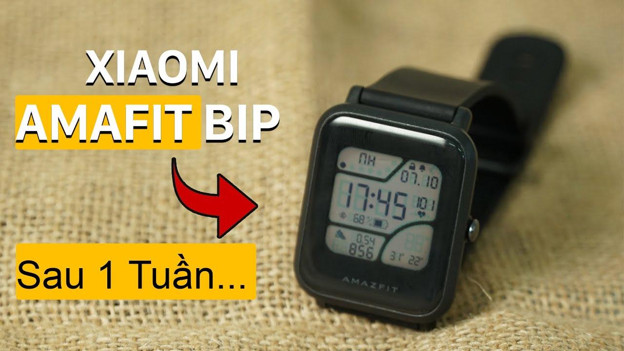 Một tuần với Xiaomi Amafit Bip | Truesmart