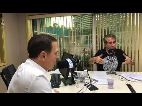 João Doria é entrevistado ao vivo na Rádio Capital - Febre Amarela, nomeação de viaduto e PT