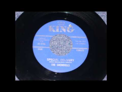 SHONDELLS - MUSCLE BOUND - KING 5705 - 1962