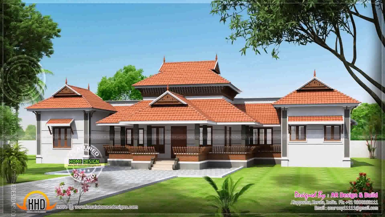 Kerala Style Nalukettu House Youtube