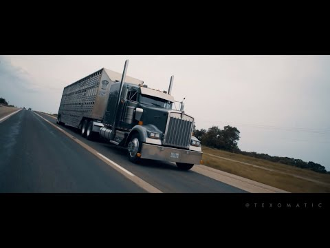 Long Haul Paul | Thirty Weight Coffee OFFICIAL VIDEO (IN COLOR) | Big Rig | Transportation Videos
