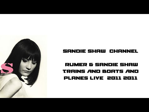 Rumer & Sandie Shaw Trains And Boats And Planes Live  2011.flv
