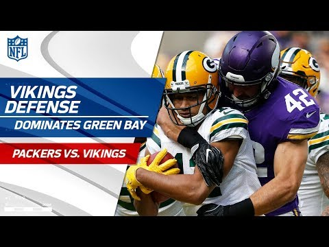 Minnesota's Defense Dominates Green Bay! | Packers vs. Vikings | Wk 6 Player Highlights