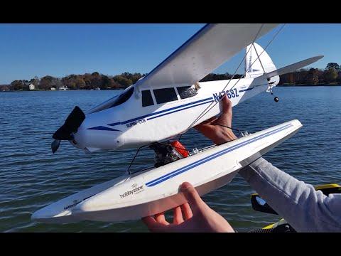 RC Supercub Seaplane