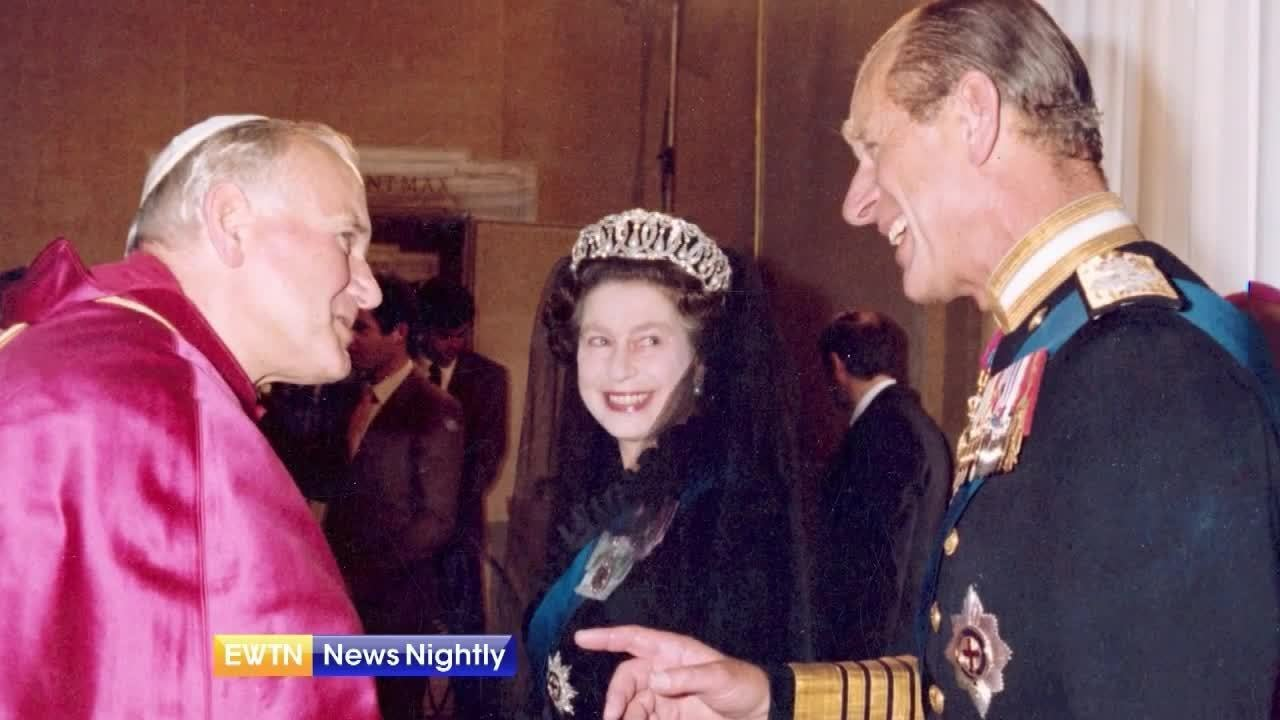 A Look Back at Prince Philip's Visits to the Vatican | EWTN News Nightly