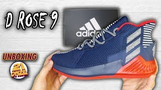 85327dcfd36a Unboxing Adidas D ROSE 9