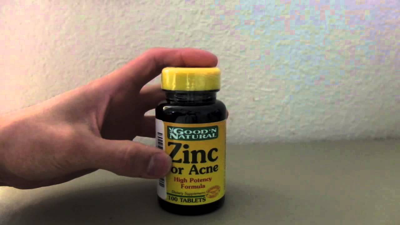 Good N Natural Zinc For Acne Review Youtube