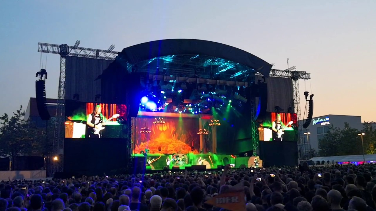 number of the beast iron maiden expo plaza hannover youtube. Black Bedroom Furniture Sets. Home Design Ideas