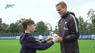 «Это был самый классный день в моей жизни!»: Максим Михайлов вручил Кокорину приз от G-Drive