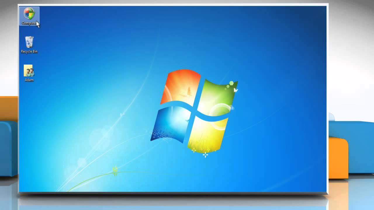 How to change desktop icons on Windows® 7