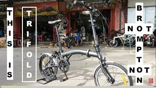 Toko Sepeda Majuroyal Review United Trifold 3 Speed Nexus Internal Gear is Brompton Wanna Be