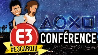 CONFÉRENCE PLAYSTATION E3 2018 (Last of Us 2, Death Stranding, Ghost of Tsushima, RE2...)
