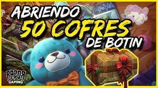 Heroes of the Storm | ABRIENDO 50 COFRES DE BOTÍN