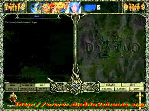 NEW 2011 HACKS -   Diablo 1.13d Maphack!!!Diablo 2 Patch 1.13d DupeHack v.1.0.4.mpg