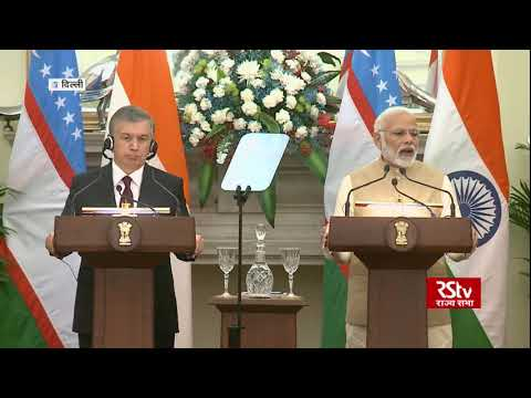 India, Uzbekistan scale up ties, sign 17 pacts