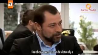 Memati Efsane Sahne Kurtlar vadisi Derin Devlet