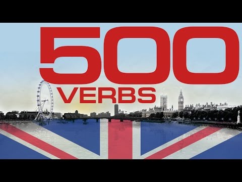 500 verbs in English with examples  Learn a list of most common English verbs - all verbs you need