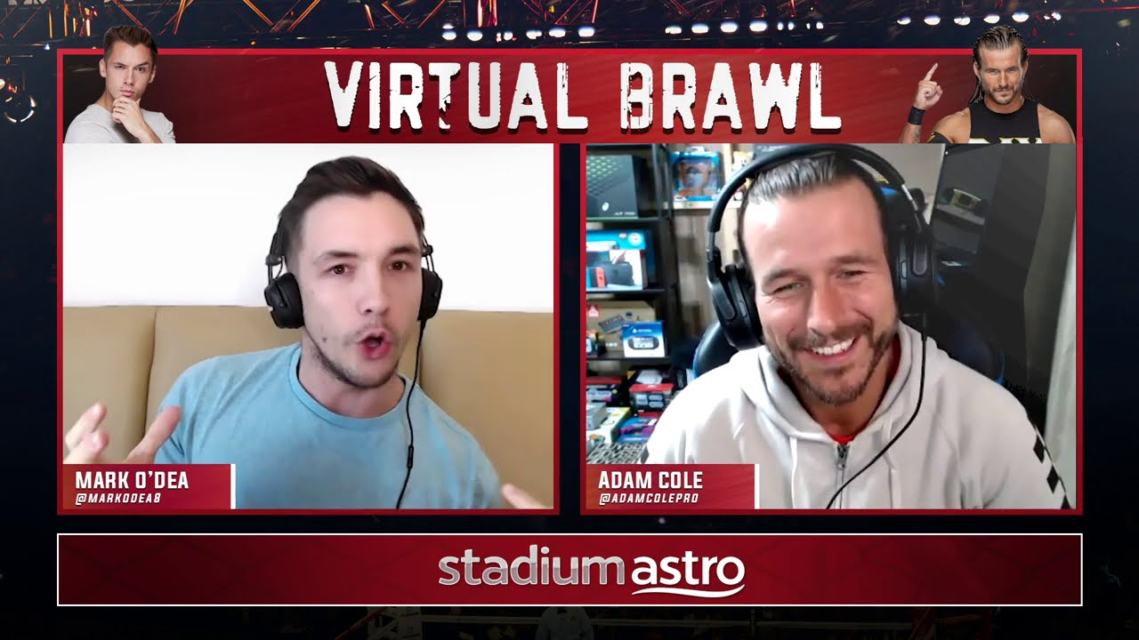 EXCLUSIVE: Adam Cole, WWE NXT Superstar, tells all about the Undisputed Era | Virtual Brawl