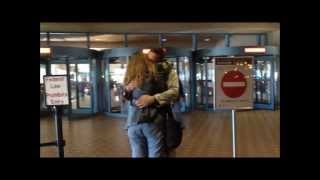 Surprise Welcome Home-- For My Step-dad From His Deployment Over Seas!