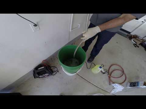 Tankless Water Heater descale
