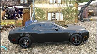 Forza Horizon 4 LP EP14 How To Unlock Dodge Demon!! FIRST DRIVE!! (Thrustmaster Wheel)  | SLAPTrain
