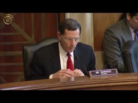 Indian Affairs Committee Chairman Barrasso