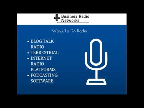Business Radio Networks Host Your Own Show
