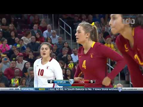 UCLA at USC - NCAA Women's Volleyball (Nov 25th 2015)