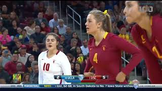 UCLA at USC - NCAA Women's Volleyball (Nov 25th 2017)