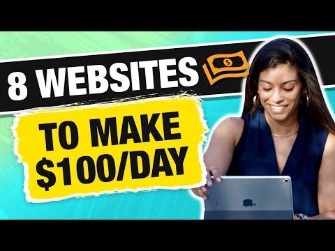8 Websites To Make $100 Per Day in 2019 [NEWBIE FRIENDLY] - Marissa Romero
