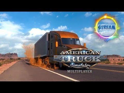 American Truck Simulator. Multiplayer. Покупка Тягача. 18+
