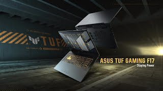 2021 ASUS TUF Gaming F17 - Staying Power | ASUS