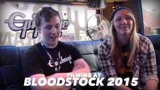 Filming For Epiphone At Bloodstock 2015! (ft. John Paul)