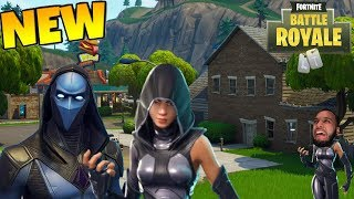 HAPPY FATHERS JOUR - France OMEN SKIN HAS ARRIVED - France AMICALE FAMILIALE FORTNITE SAISON 4