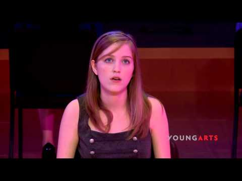 Melody Dailey | Spoken Theater | 2013 National YoungArts Week thumbnail