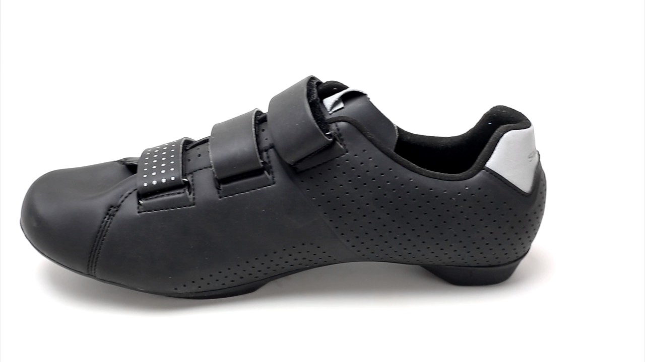 81c61cce380 Shimano RT5 Road Cycling Shoes Review by Bikeshoes.com - YouTube