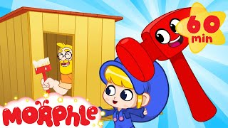 Building a Shed - Build with Mila and Morphle | Cartoons for Kids | Morphle TV