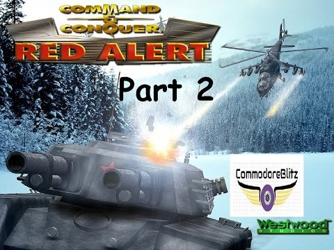 Command & Conquer Red Alert 1 Lets Play  PC Combat Steam Gameplay  Commentary  Part 2