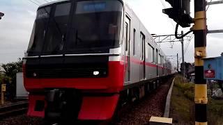 (銀電+新塗装)名鉄3157F+3106F急行新鵜沼行き半田口駅付近通過
