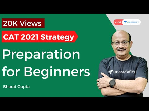 Preparation Strategy for CAT 2020 for Beginners by Bharat Gupta