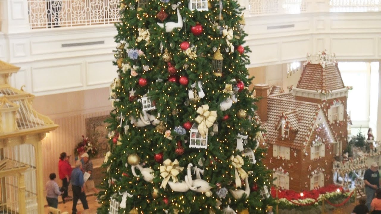 Disney's Grand Floridian Resort Lobby CHRISTMAS TREE