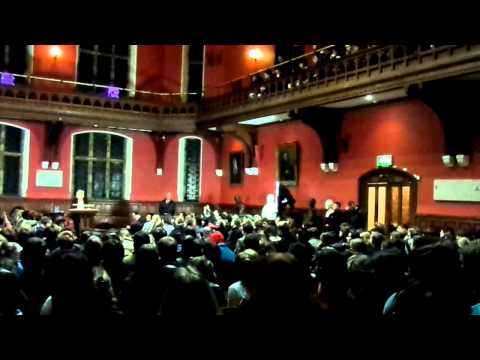 Marine Le Pen at the Oxford Union (I)