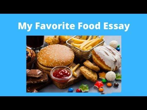 my favorite food paragraph