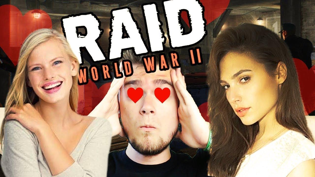 RATUJEMY DWIE GORĄCE NIEWIASTY! | RAID: World War II [#8] (W: Robuch, Tominator, Wezyr)