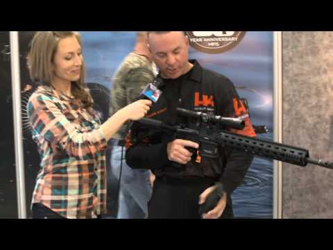 GunsAmerica Shot Show 2014 Day 2 - Heckler & Koch