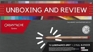 Caran D'Ache Luminance Coloured Pencils | Review