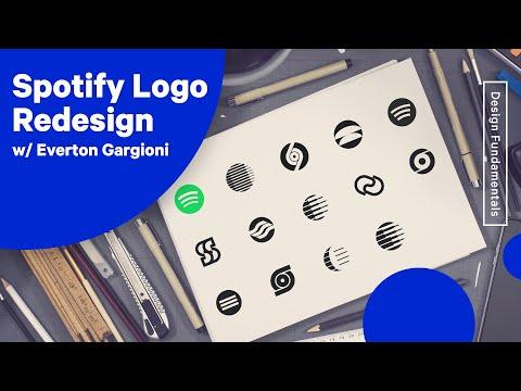 Spotify Logo Redesign w/Everton Gargioni