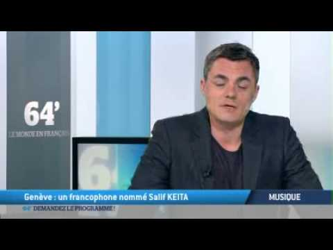 TV5 Salif Keita joue pour La Francophonie a Geneve/Francophonie concert in Geneva