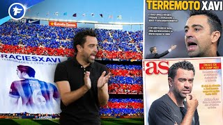 VIDEO: Le tremblement de terre Xavi secoue Barcelone | Revue de presse