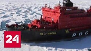 Самый большой в мире ледокол стал круизным лайнером